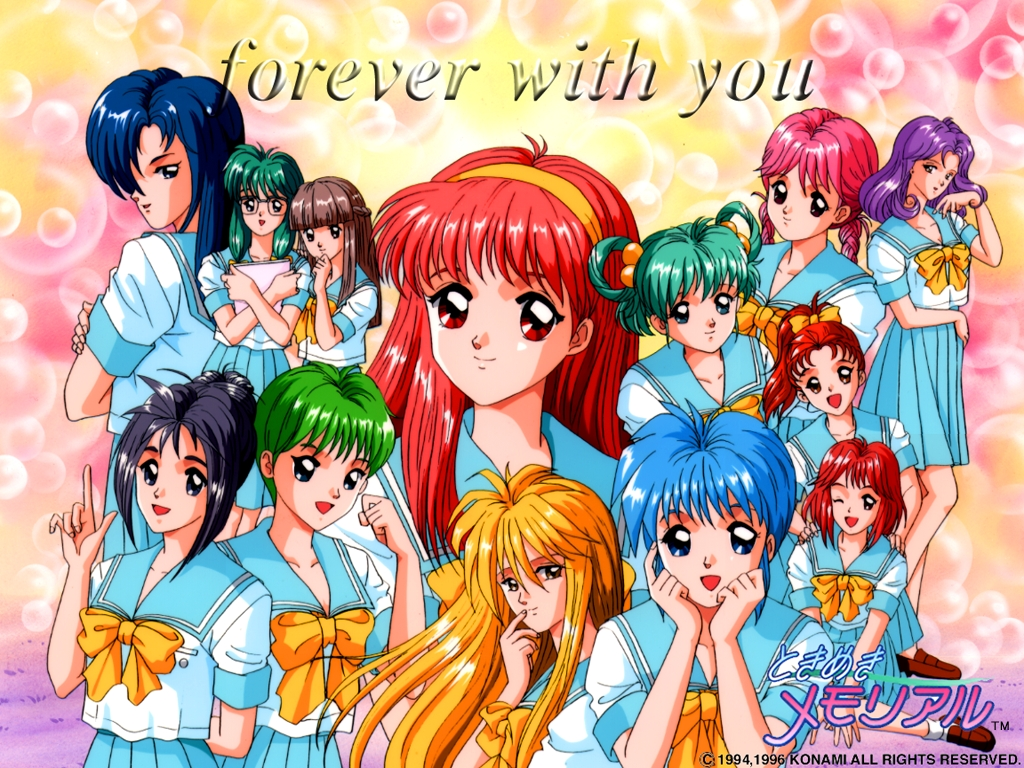 Tokimeki Memorial Wallpaper Page 3 Tokimeki Media