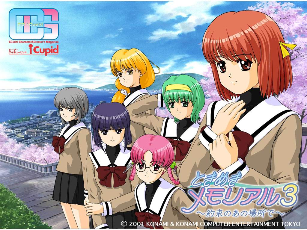 Tokimeki Memorial 3 Wallpaper Tokimeki Media