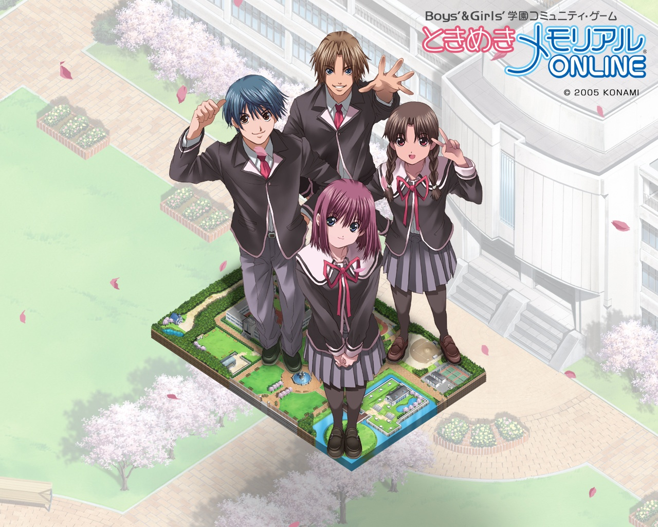 Tokimeki Memorial Online Wallpaper Tokimeki Media